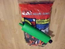 100 Qualatex modelleerballonnen + 1 pompje