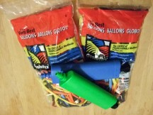 2x100 Qualatex modelleerballonnen + 2 pompjes