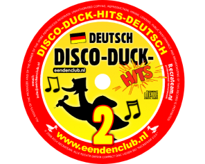 CD X 'Disco-duck-hits DEUTSCH 2'