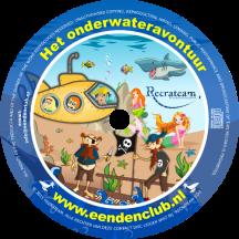 CD 8 'De Eendenclub en het onderwateravontuur'