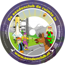 CD 9 'De Eendenclub de ruimte in'